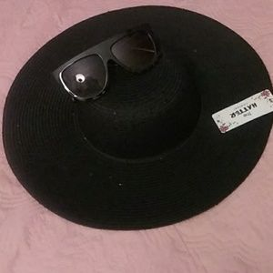 NWT Sun Hat with Sequins